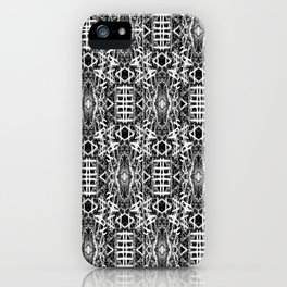 bw texture 10 iPhone Case