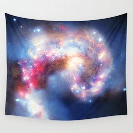 Looking to the skies Wall Tapestry
