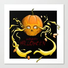 Feel Creepy any day of the year Canvas Print