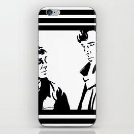 Simple Sherlock iPhone Skin