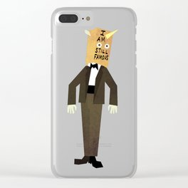 I AM STILL FAMOUS Clear iPhone Case