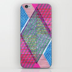 Isometric Harlequin #10 iPhone & iPod Skin