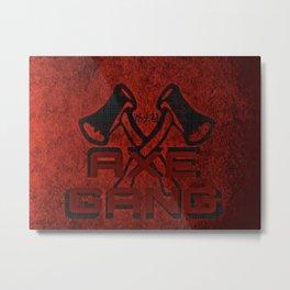 Axe Gang Metal Print