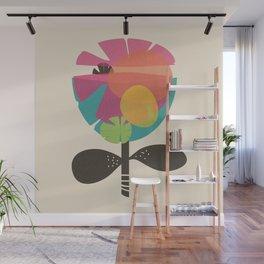 La Flor Wall Mural