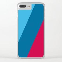 Diagonalist Clear iPhone Case