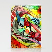 karma Stationery Cards featuring karma by sylvie demers