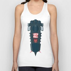 Pitbull Hoverboard Unisex Tank Top