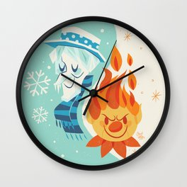 Christmas Nostalgia Wall Clock