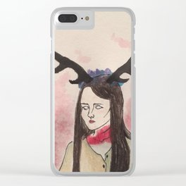 The Ghost of Abigail Clear iPhone Case