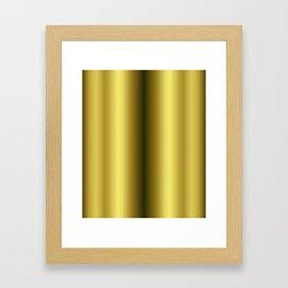 Gold leggings Framed Art Print