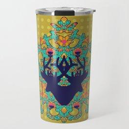 Polka Lotus : Antilope Travel Mug