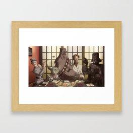 Sushi Wars Framed Art Print