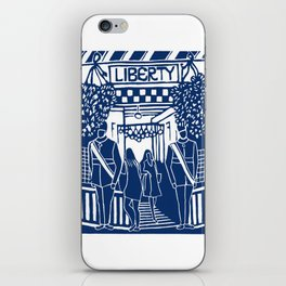 Liberty in London iPhone Skin