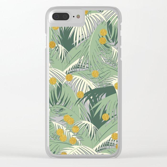Palm + Gold #society6 #decor #buyart Clear iPhone Case