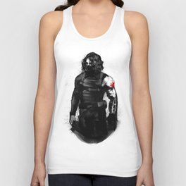 Who the hell is Bucky? Unisex Tank Top