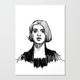 brian molko Canvas Print