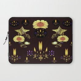 Stars Over The Sacred Sea Of Candles Laptop Sleeve