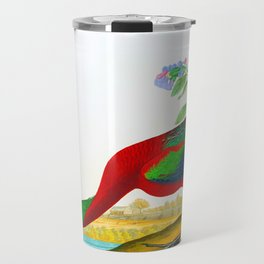 Glossy Ibis Bird Travel Mug