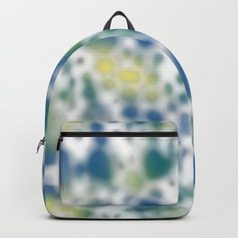 Impression of glimpses of light Backpack