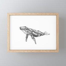 Whale of a Time Framed Mini Art Print