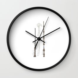 The wand chooses the wizard, Mr. Potter.  Wall Clock