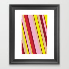 happy tones Framed Art Print