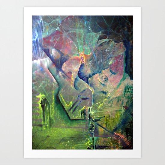 Rewire Art Print