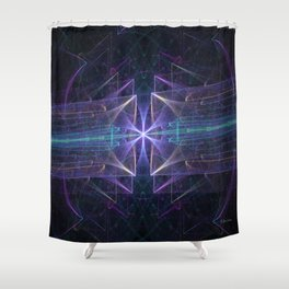 Photon Party Shower Curtain