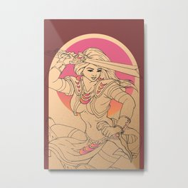 R.Nubla's Mayari Moon Goddess Metal Print