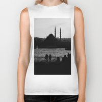 istanbul Biker Tanks featuring Istanbul by habish