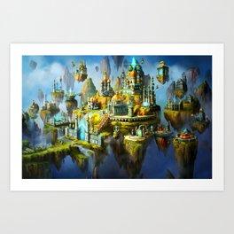 Amazing City Art Print