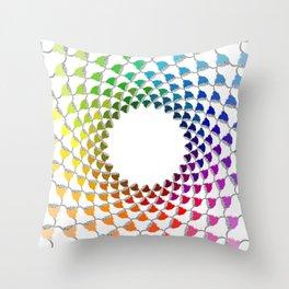 COLOURFUL COOS Throw Pillow