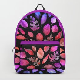 All the Colors of Nature - Gradient on Dark Background Backpack