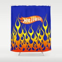 Hot Mess Shower Curtain