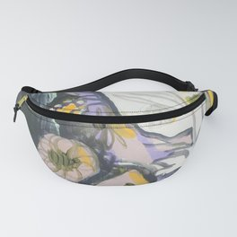Feather & Flowers Fanny Pack