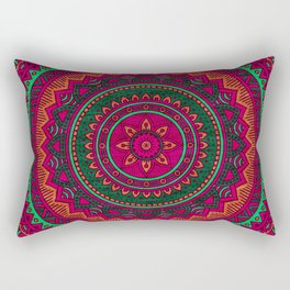 Hippie mandala 64 Rectangular Pillow