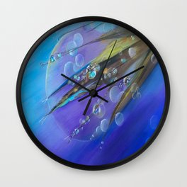 Etheric Dew Wall Clock