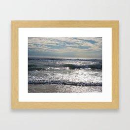 Morning Seascape Framed Art Print
