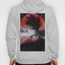A TREE SUNSET Hoody