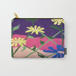 Colorful Flower Abstract Carry-All Pouch