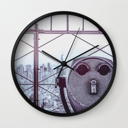 Perfect New York Night - City Life Wall Clock