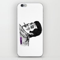 zuko iPhone & iPod Skins featuring Danny Zuko by Feral Doe
