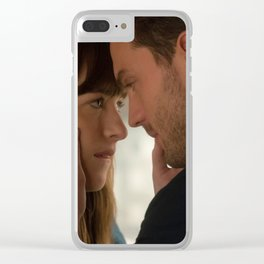 Fifty Shades Darker - Ana & Christian Clear iPhone Case