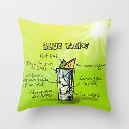 Blue_Tahoe_002_by_JAMFoto Throw Pillow