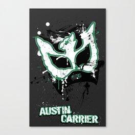 Austin's Paint Mask Canvas Print