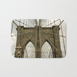 Brooklyn Bridge NYC Bath Mat