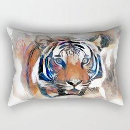 Tiger, the God of the Mountain Rectangular Pillow