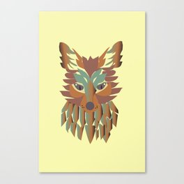 fox vector Canvas Print