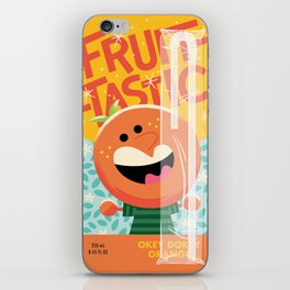Okey Dokey Orange iPhone Skin