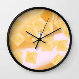 caramel Wall Clock